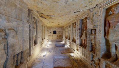 Гробница жреца Уахти в Саккаре