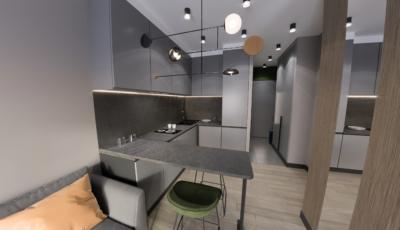 Виртуальный тур по однокомнатной квартире 3D Model