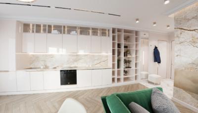 Виртуальный тур по двухкомнатной квартире 3D Model