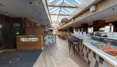 Matterport тур по ресторану Terrassa Ginza Project