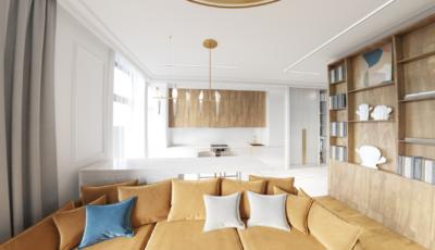 3d render 3х комнатной квартире «Fusion» 3D Model