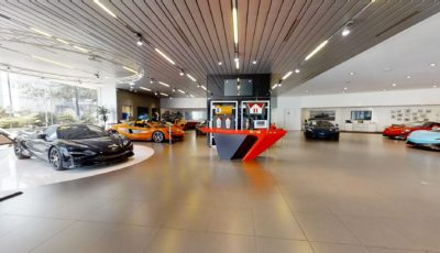 Matterport тур по дилерскому центру McLaren 3D Model