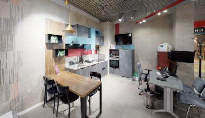 Виртуальный тур Matterport по подиуму кухни «Мария» в МТК «Гранд» 3D Model