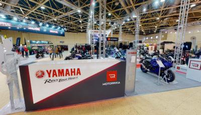 Стенд Yamaha & Motorrika на выставке Мотовесна'21 в Экспоцентре 3D Model