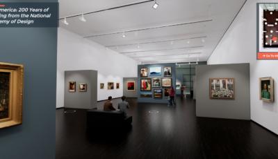 Выставка «200 лет живописи от Национальной академии дизайна» 3D Model